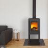 Meteor 470 high stove open houtvak